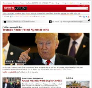 Spon-Trump-Aufmacher